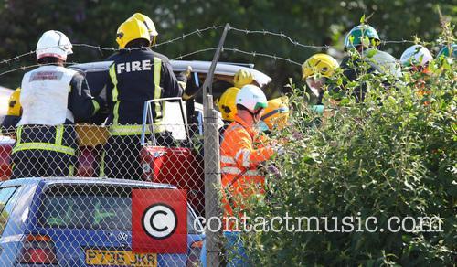 Eastenders car crash scene