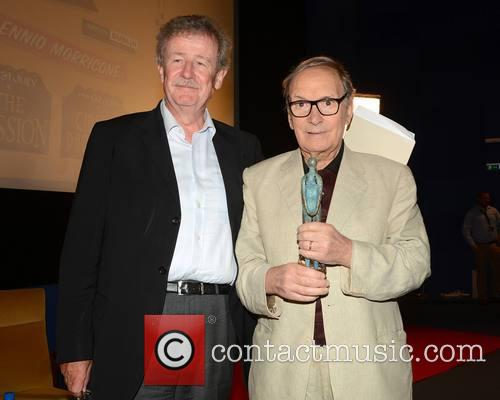Sir Christopher Frayling and Ennio Morricone 1