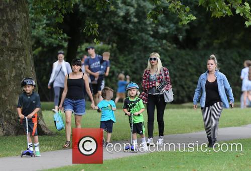 Gwen Stefani, Kingston Rossdale and Zuma Rossdale 10