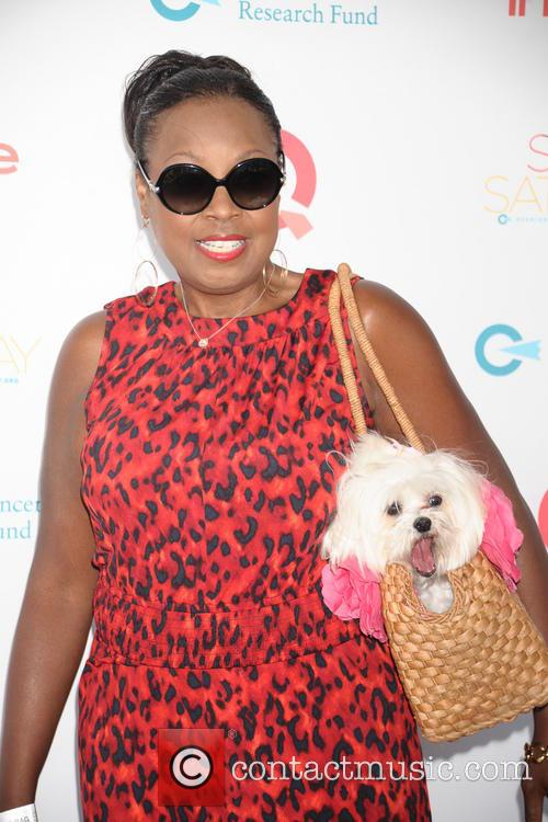 Star Jones and Pinky 2