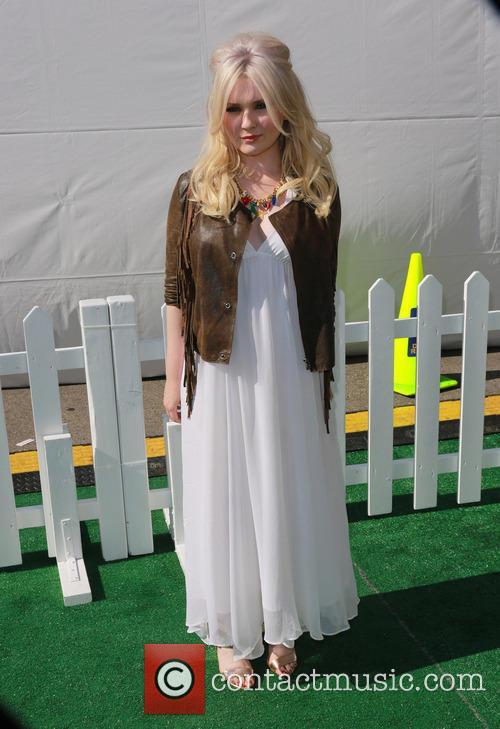 Abigail Breslin, Universal Studios Hollywood