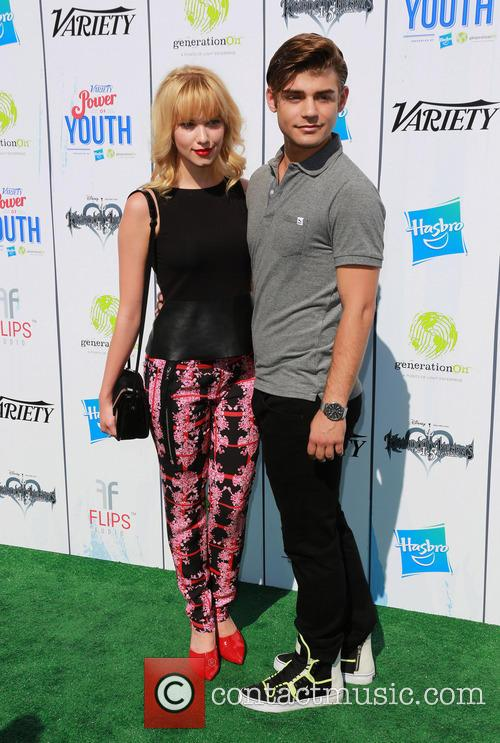 Garrett Clayton and Claudia Lee 2