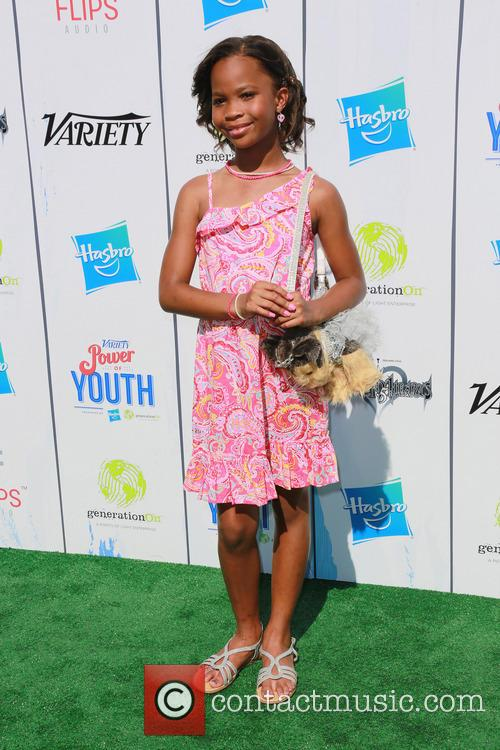 Quvenzhane Wallis, Universal Studios Hollywood