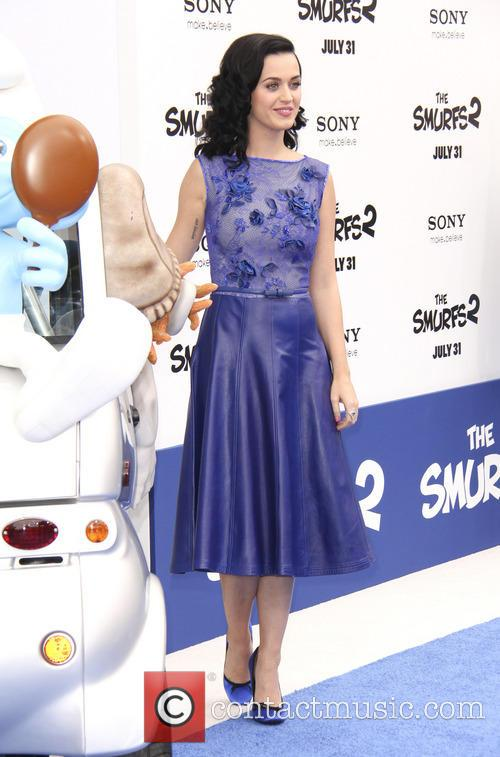 katy perry la premiere of the smurfs 3786460