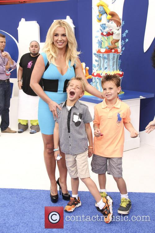 Sean Ferdeline, Britney Spears and Jayden Federline 1
