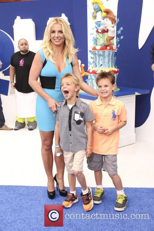 Sean Ferdeline, Britney Spears and Jayden Federline 2