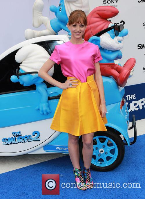 The Los Angeles premiere of 'Smurfs 2' -...