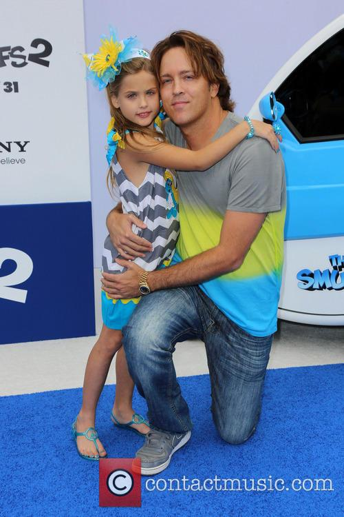 Larry Birkhead and daughter Dannielynn