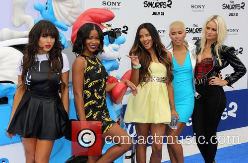 Paula Van Oppen, Lauren Bennett, Emmalyn Estrada, Simone Battle, Natasha Slayton and G.r. 3
