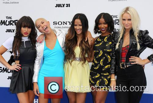 Paula Van Oppen, Lauren Bennett, Emmalyn Estrada, Simone Battle, Natasha Slayton and G.r. 1