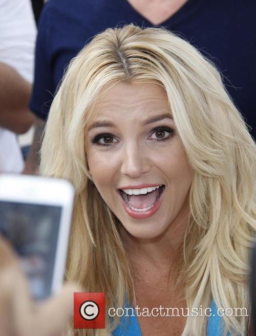 Britney Spears, The Smurfs LA Premiere