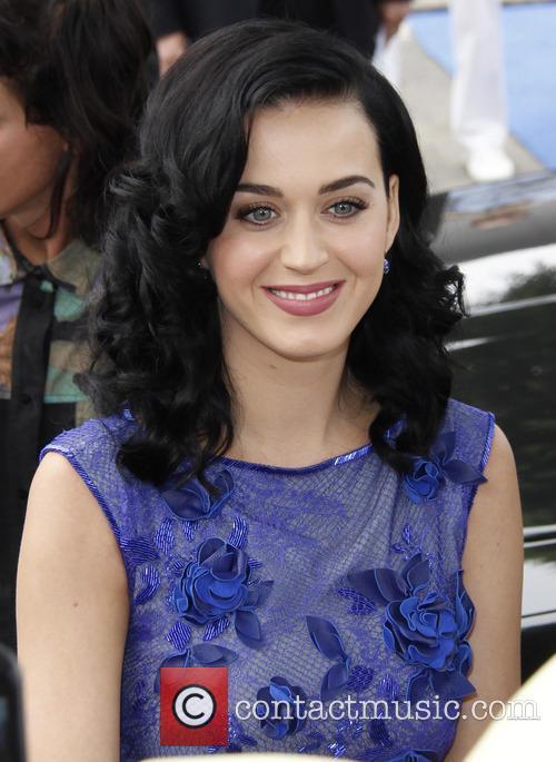 Katy Perry, The Smurfs LA Premiere