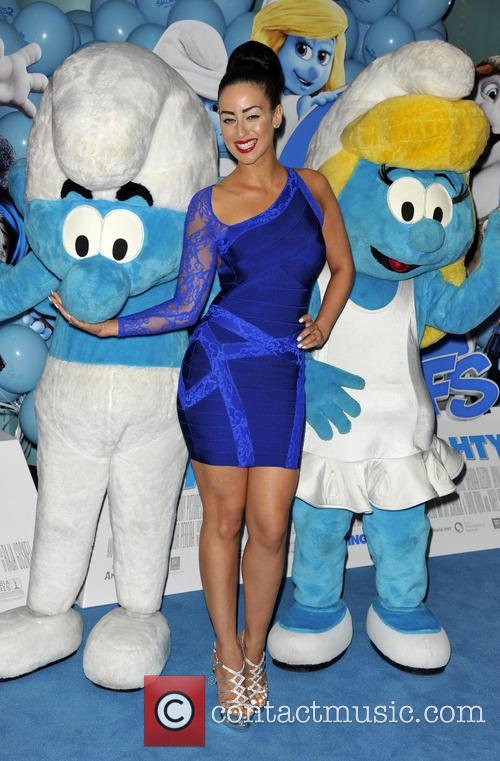 The World Premiere of 'Smurfs 2', held at...