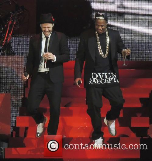 Justin Timberlake and Jay-z 3
