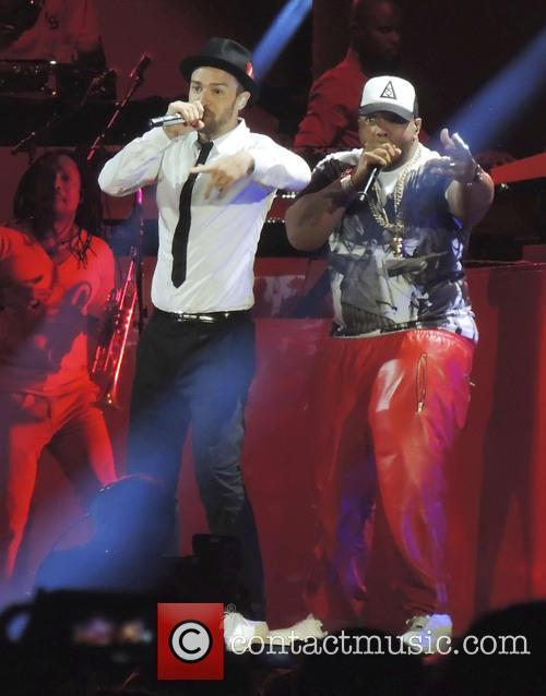 Justin Timberlake, Timbaland, Rose Bowl