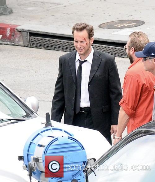 Patrick Wilson and Brooklyn Decker Filming On Location