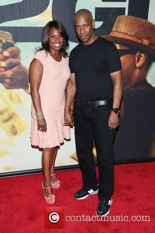 Denzel Washington and Pauletta Washington 6