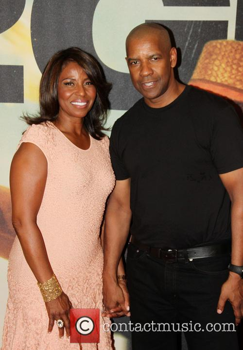 Pauletta Pearson Washington and Denzel Washington 2