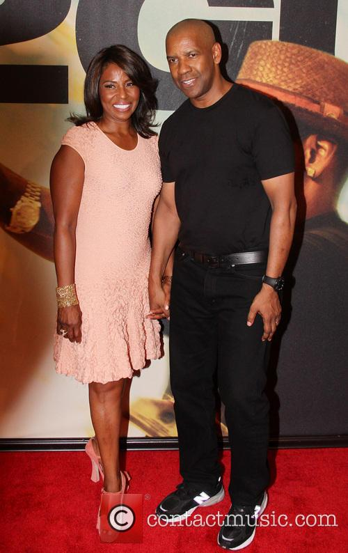 Pauletta Pearson Washington and Denzel Washington 1
