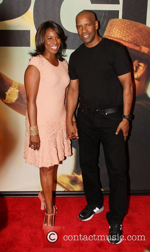Denzel Washington and Pauletta Pearson Washington 10