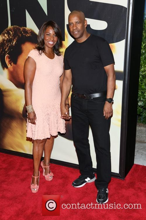 Denzel Washington and Pauletta Washington 1