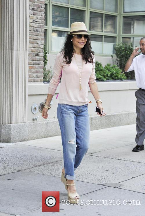 Bethenny Frankel departs her apartment