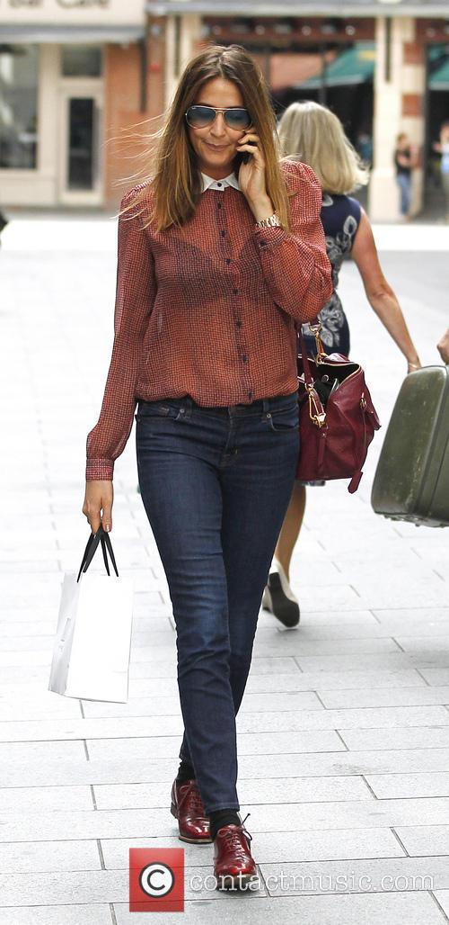 Lisa Snowdon leaving the Capital Radio studios
