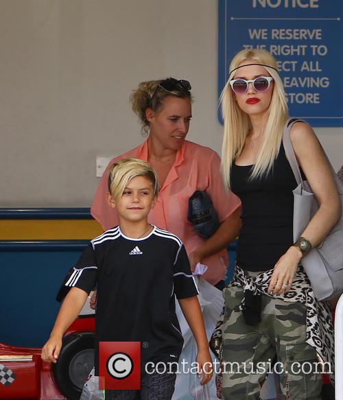 Gwen Stefani and Kingston Rossdale 1