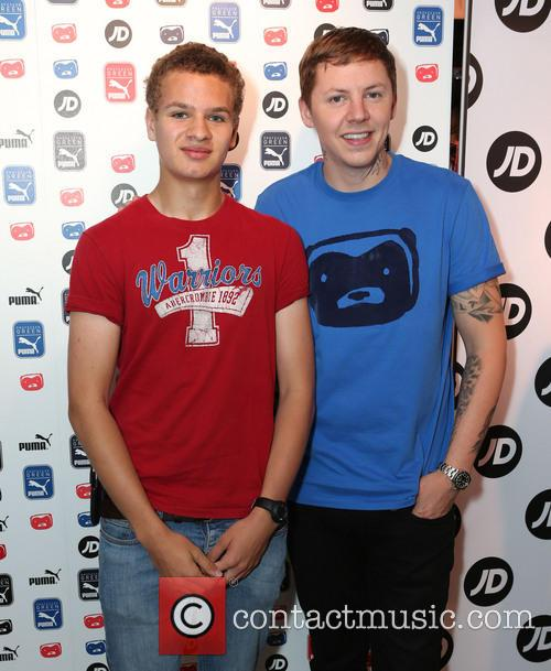 Professor Green and Jordan Lewis 5
