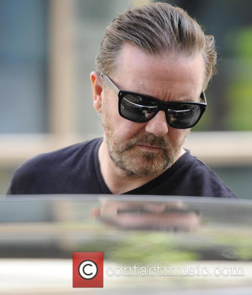 ricky gervais celebrities at the bbc radio 3786992