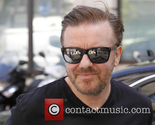 ricky gervais celebrities at the bbc radio 3787055