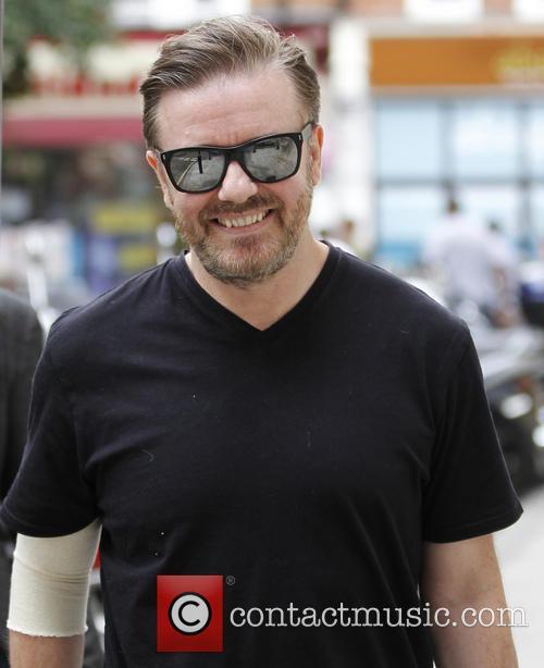 Ricky Gervais, BBC Radio 2 Studio