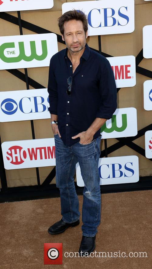 david duchovny cw cbs and showtime 2013 3787998