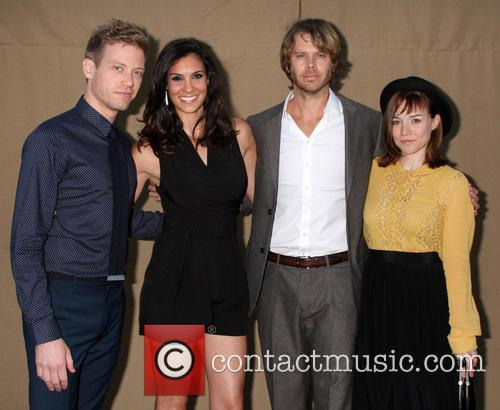 Daniela Ruah, Barrett Foa, Eric Christian Olsen and Renee Felice Smith