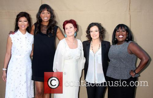 Julie Chen, Aisha Tyler, Sharon Osbourne, Sarah Gilbert and Sheryl Underwood 6