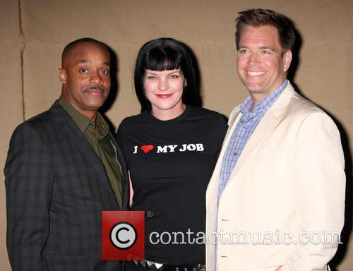 Rocky Carroll, Pauley Perrette and Michael Weatherly