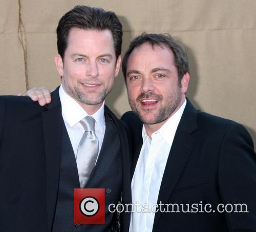Michael Muhney and Mark Sheppard 4