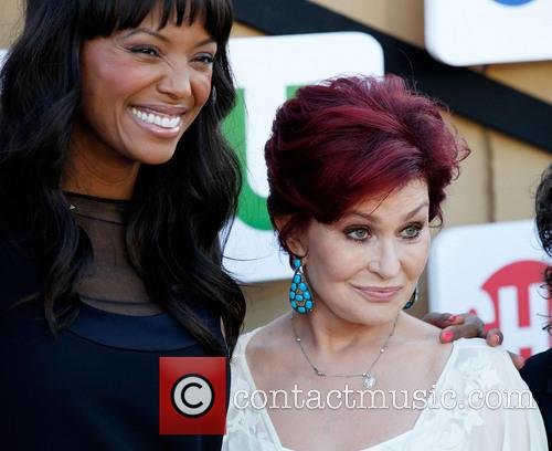 Aisha Tyler and Sharon Osbourne 5