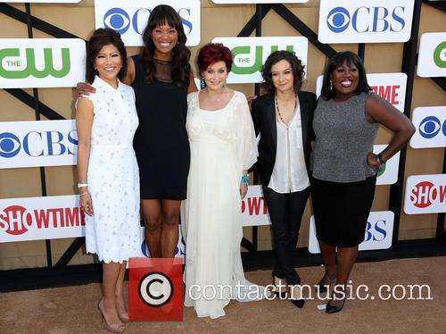 Julie Chen, Aisha Tyler, Sharon Osbourne, Sara Gilbert and Sheryl Underwood 2