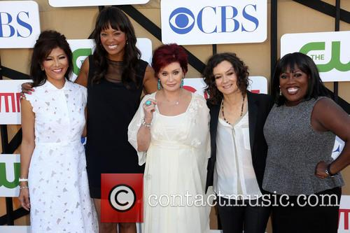 Julie Chen, Aisha Tyler, Sharon Osbourne, Sara Gilbert and Sheryl Underwood 3