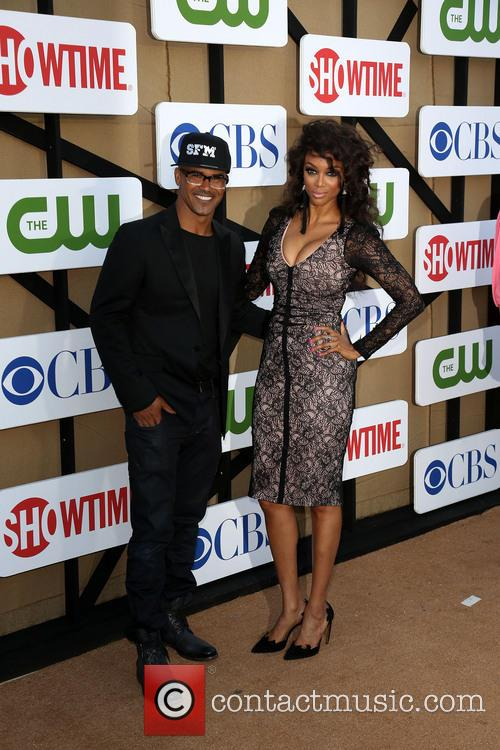 Shemar Moore and Tyra Banks 3