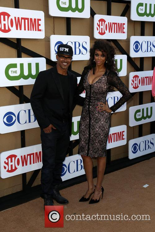 Shemar Moore and Tyra Banks 4
