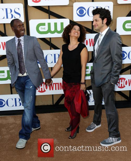 Don Cheadle, Bridgid Coulter and Ben Schwartz 3