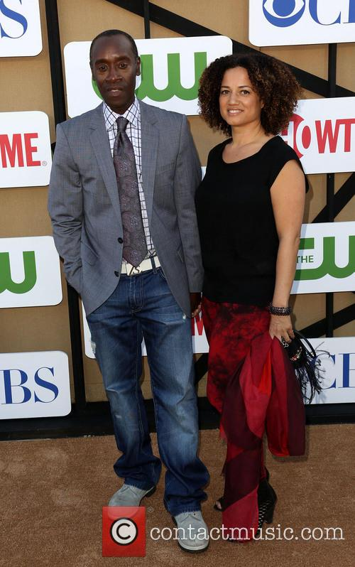 Don Cheadle and Bridgid Coulter 2