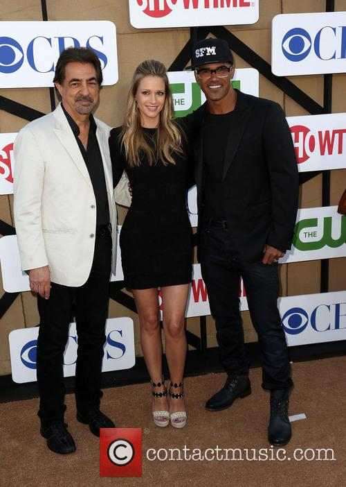 Joe Mantegna, A.j. Cook and Shemar Moore 2