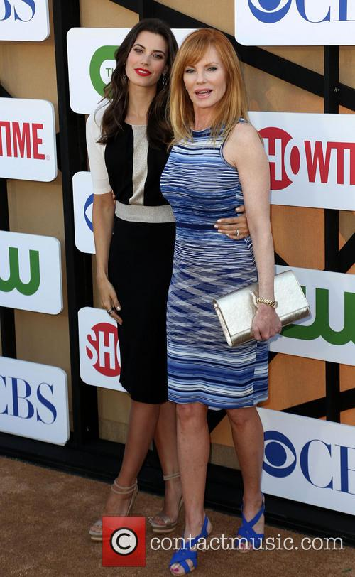 Meghan Ory and Marg Helgenberger