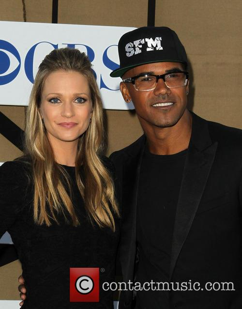 A. J. Cook and Shemar Moore 8