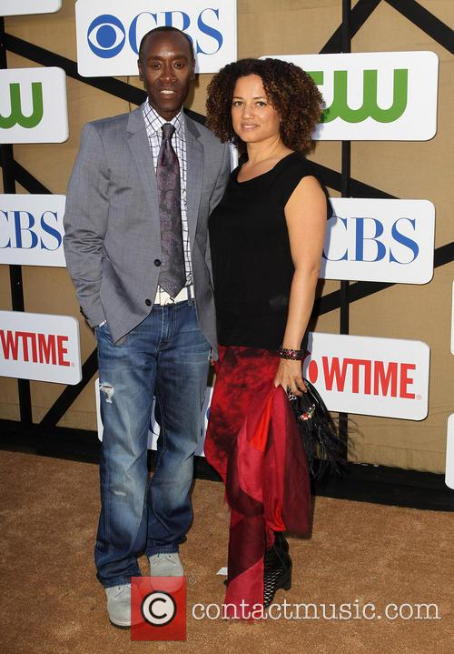 Don Cheadle and Bridgid Coulter 5