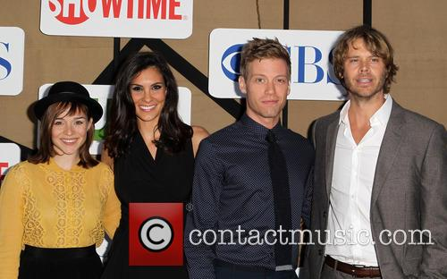 Eric Christian Olsen, Renee Felice Smith, Barrett Foa and Daniela Ruah 2