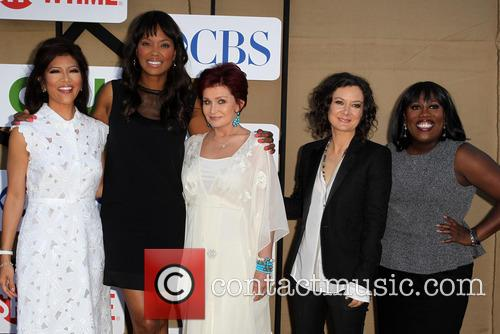 Julie Chen, Aisha Tyler, Sharon Osbourne, Sara Gilbert and Sheryl Underwood 4